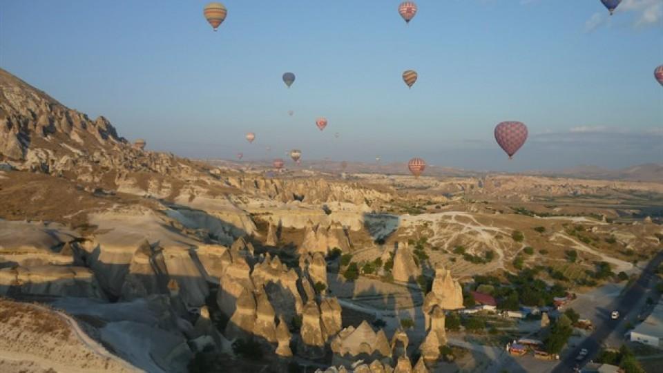 Cappadocia in mongolfiera, Turchia