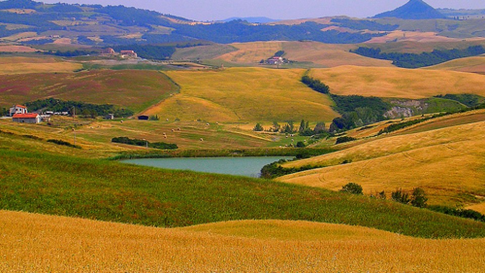 Colline Toscane – Tipico paesaggio Toscano