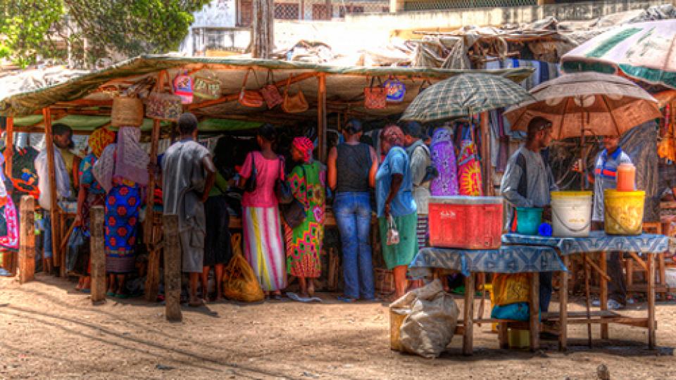 Mercato a Malindi