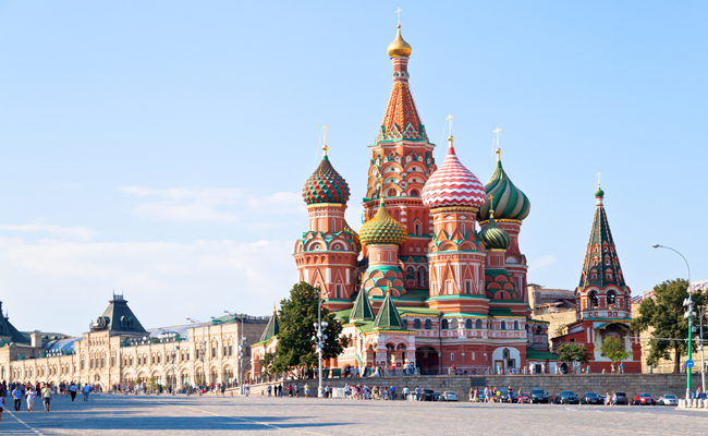 Mosca – Piazza rossa