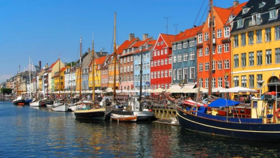 Il porto di Copenhagen Nyhavn
