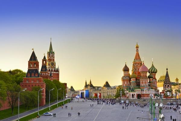 Mosca – Particolare della Piazza Rossa