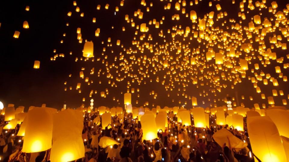 Loi Krathong o festival delle Lanterne