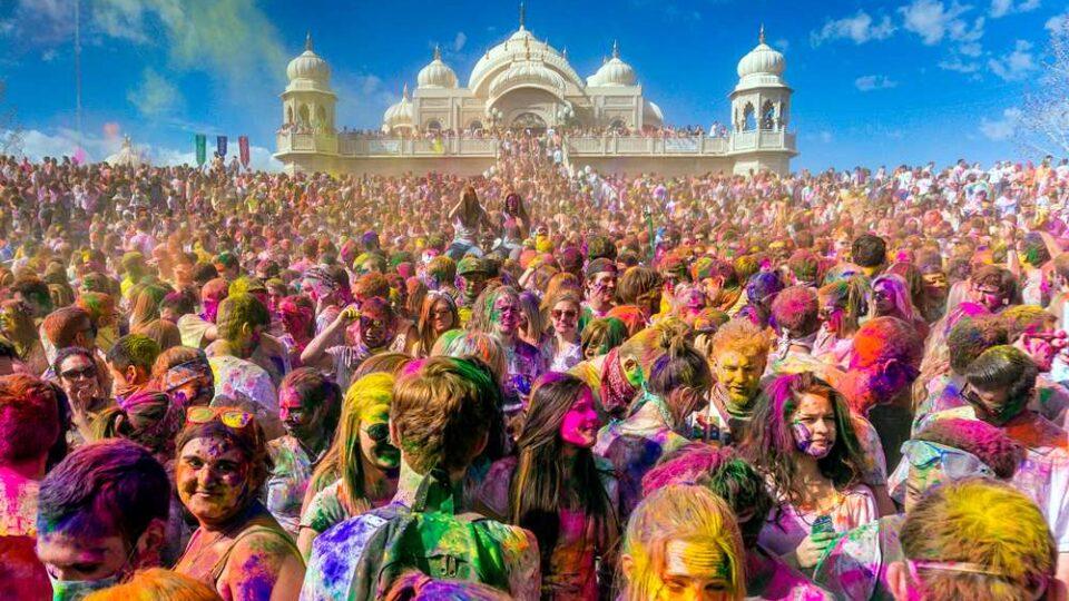 Festival di Holi in India