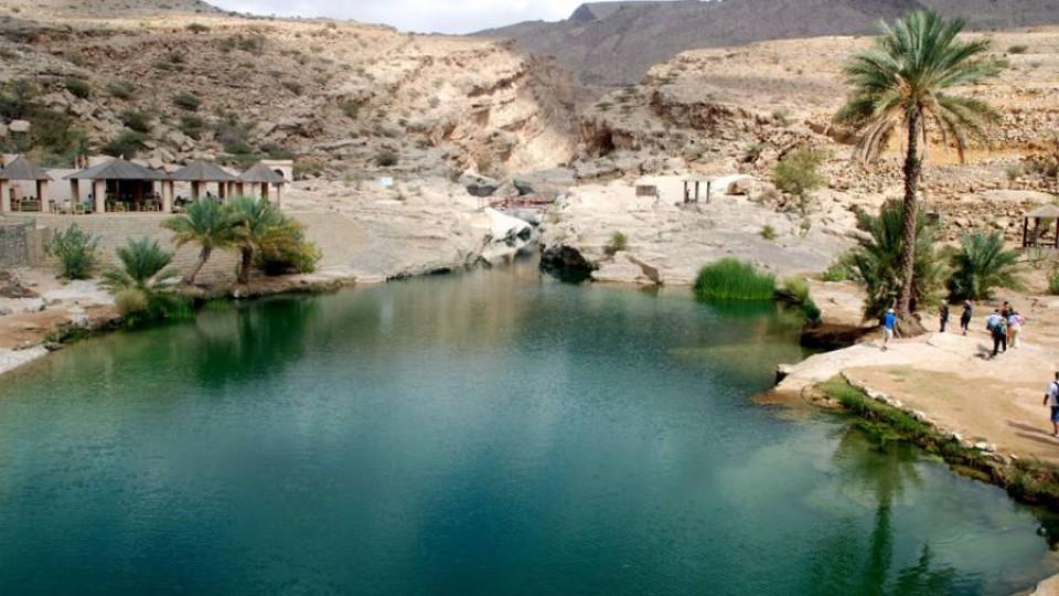 Wadi Bani Khalid – colori