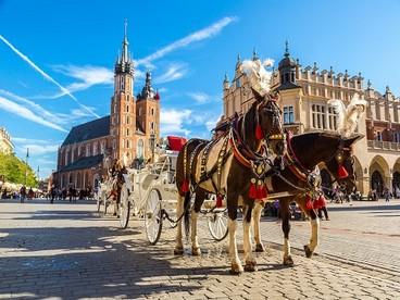 Cracovia, centro storico