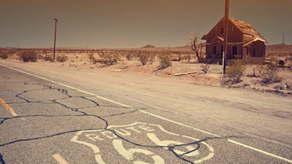 Route 66, Deserto del Mojave, California