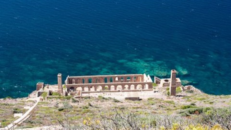 Sardegna, una delle miniere nel Sulcis Iglesiente