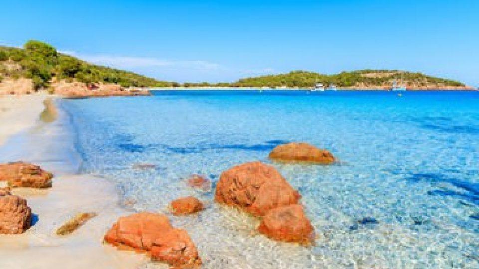Spiaggia di Santa Giulia, in Corsica