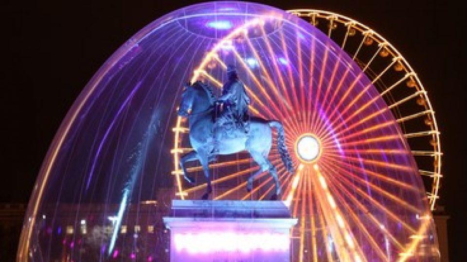 Festa delle Luci a Lione, un'installazione