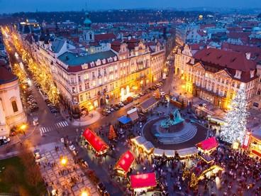 L'incanto dei mercatini di Natale a Praga