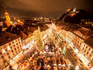 Il mercatino di Natale più grande di Vienna