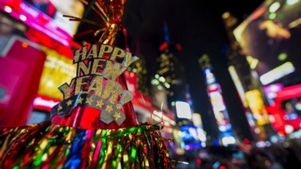 Happy new year from New York!