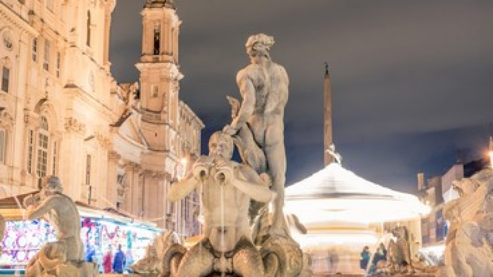 Roma, Piazza Navona a Natale