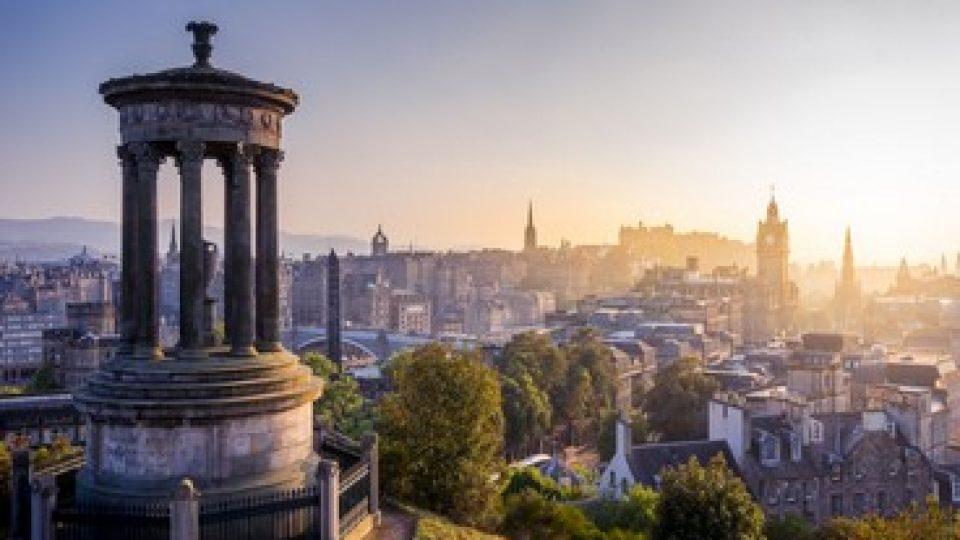 Edimburgo vista da Calton Hill