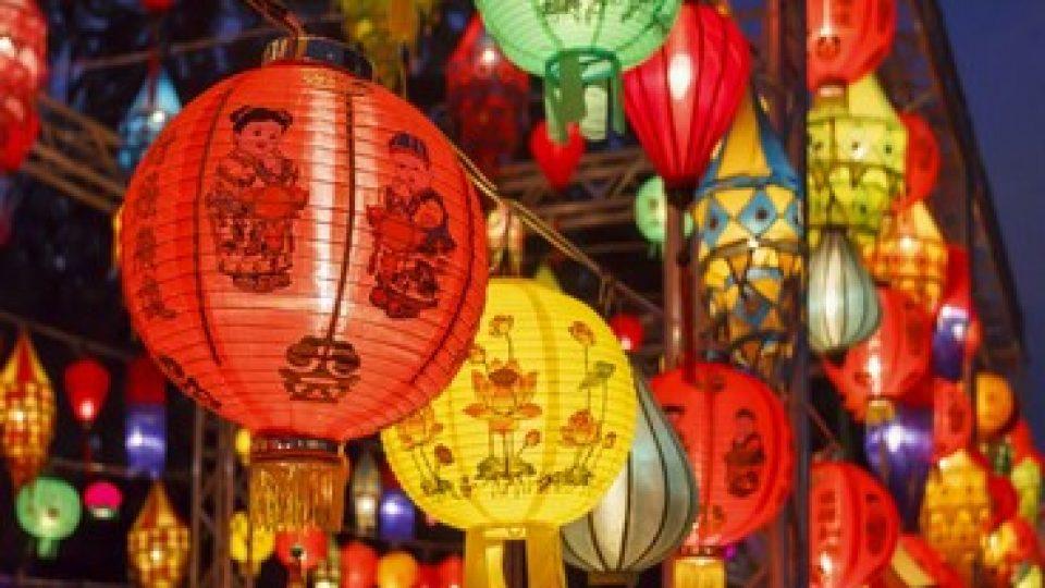 Festose lanterne in Cina