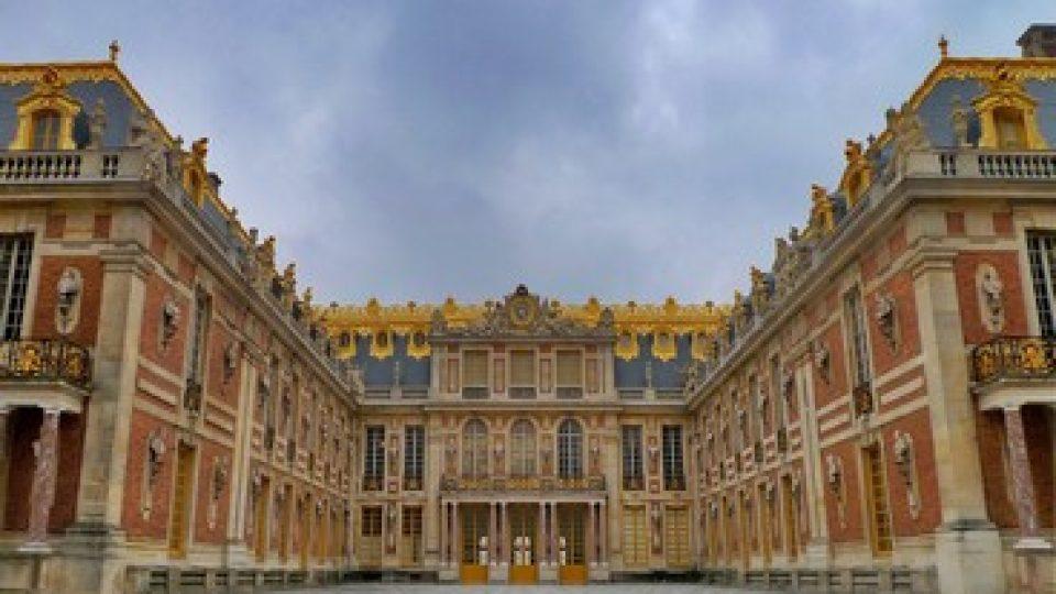 Reggia di Versailles, l'ingresso