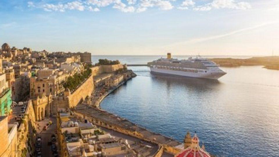 Crociera nel Mediterraneo, a Malta