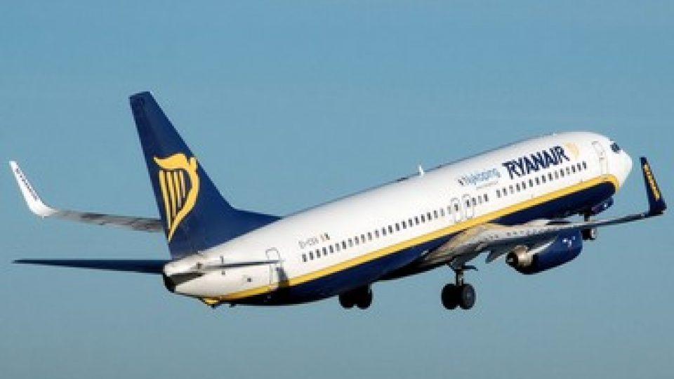 Un aereo della flotta Ryanair