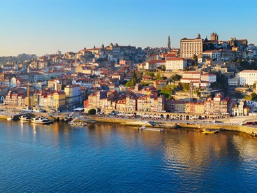 Panorama di Porto, in Portogallo