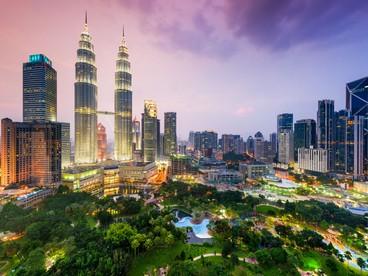 Lo skyline di Kuala Lumpur