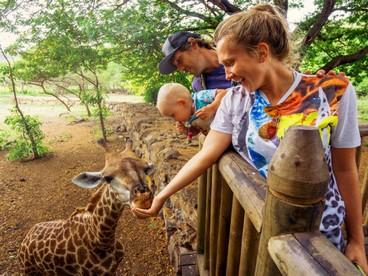 Mauritius: famiglia nel Casela Park