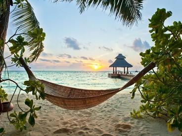 Maldive, straordinari tramonti