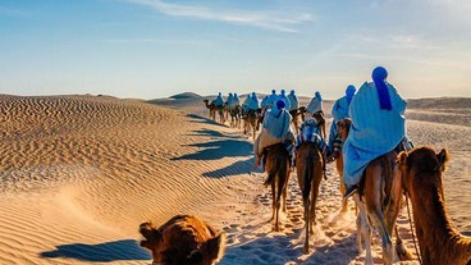 Escursione nel deserto in Tunisia