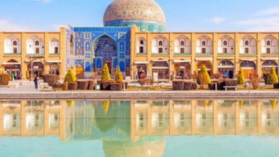 La moschea dell'Imam a Isfahan