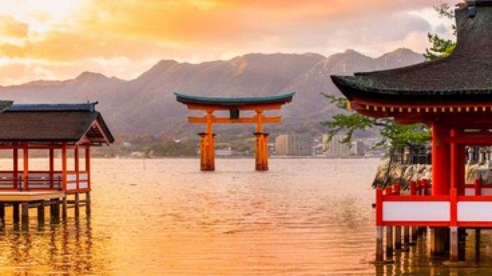 Miyajima Torii, Giappone