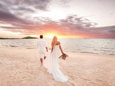 Romantico viaggio di nozze
