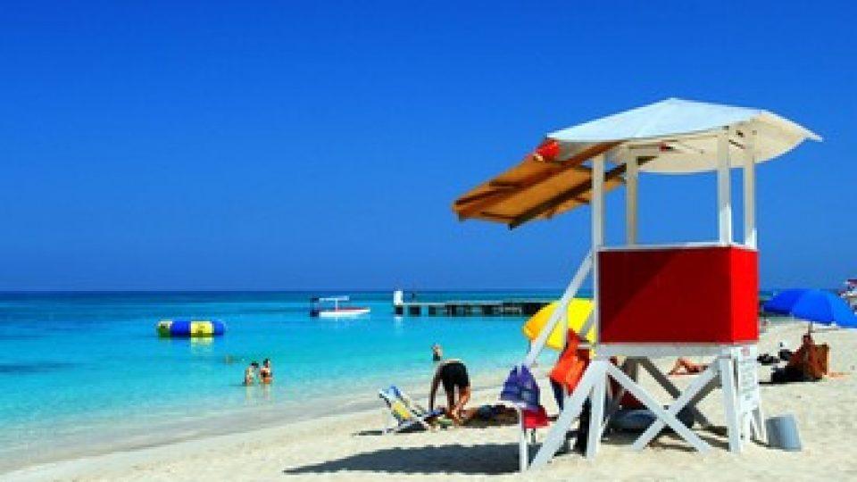 Doctor's Cave Beach, Montego-Bay, Jamaica