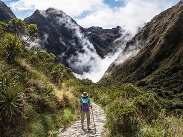 Paesaggi lungo il Camino Inca