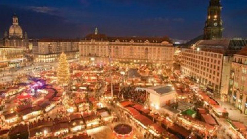 Mercatini di Natale in Rynek Glowny, Cracovia