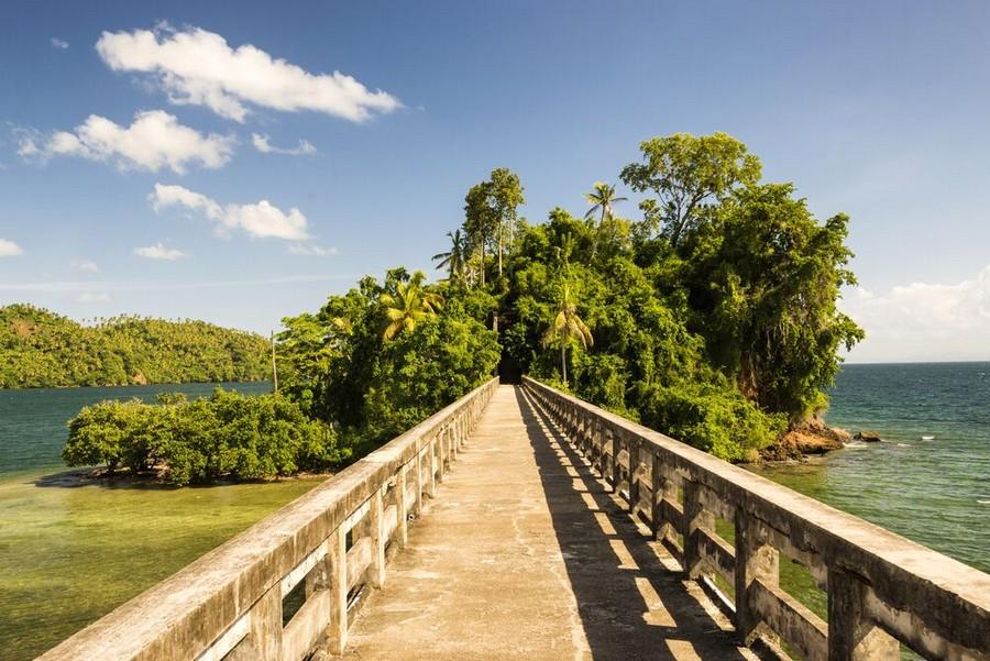 Ponte della penisola Samana
