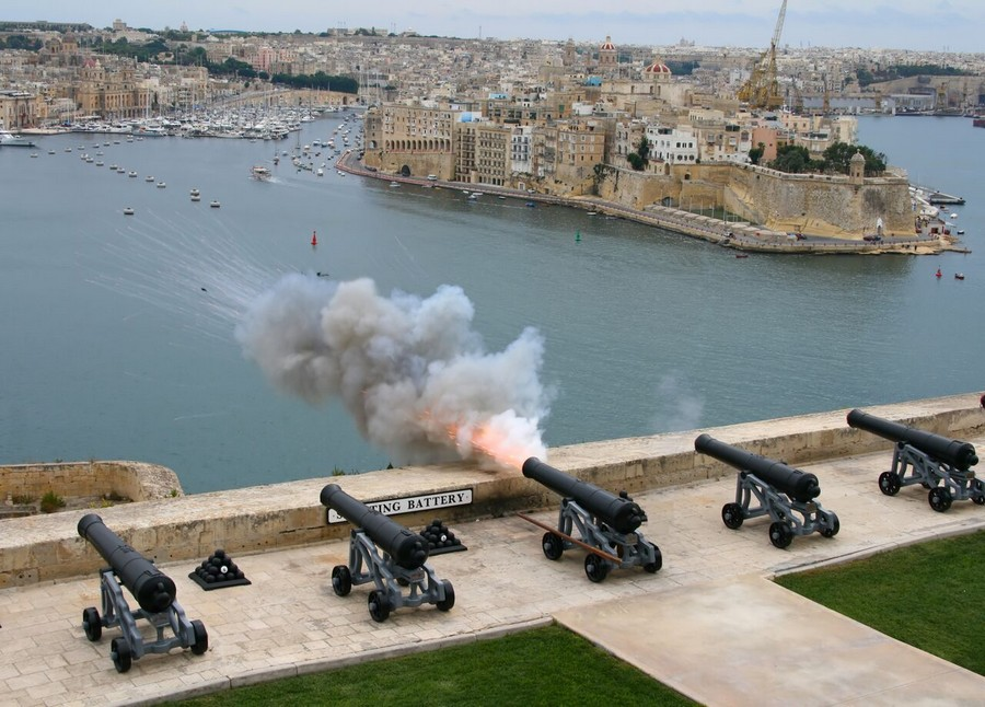 Saluting Battery, La Valletta