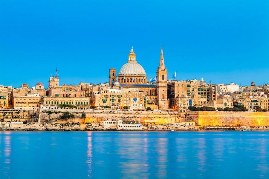 La Valletta: lo skyline