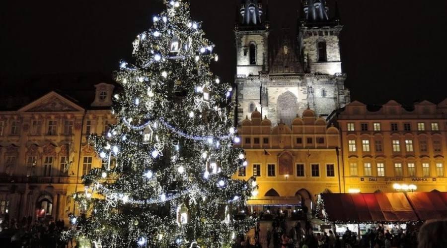 L'albero di Natale di Praga