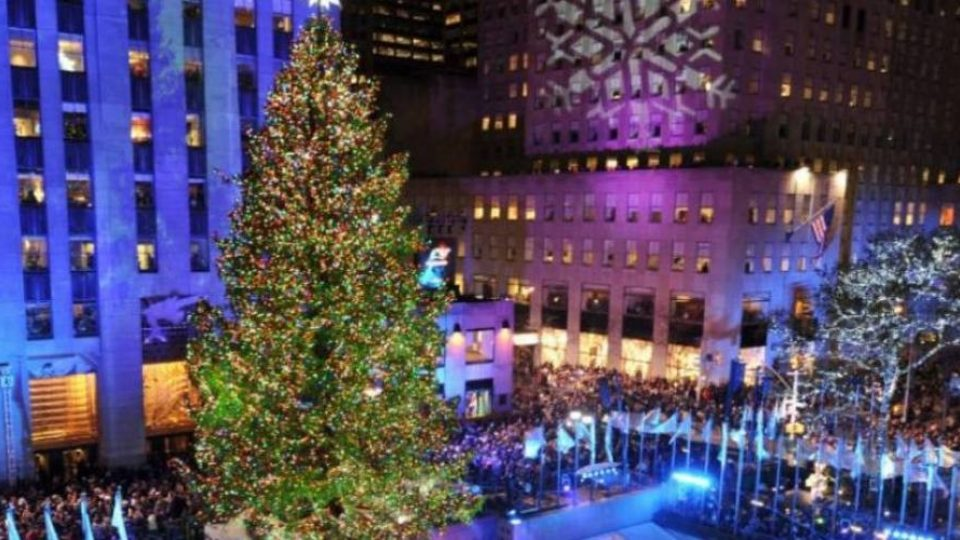 L'albero di Natale del Rockefeller Center a New York