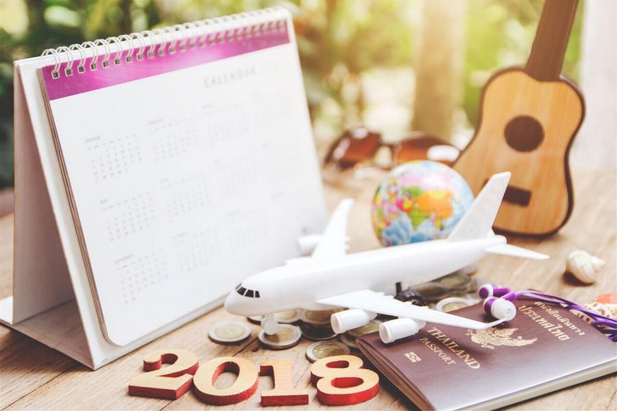 Calendario 2018: ponti e festività