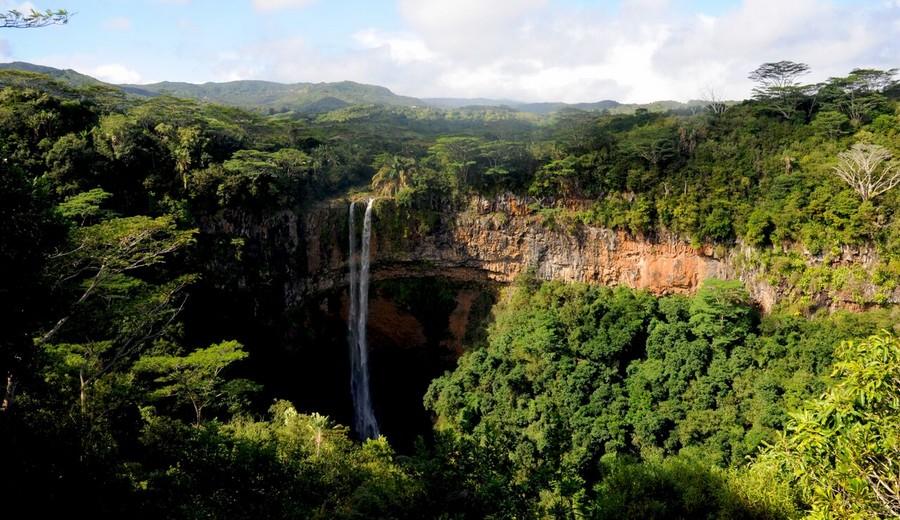 Cascate della valle di Chamarelle