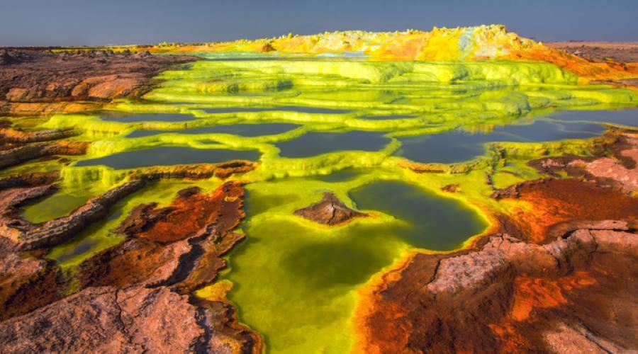 I laghi salati della Dancalia