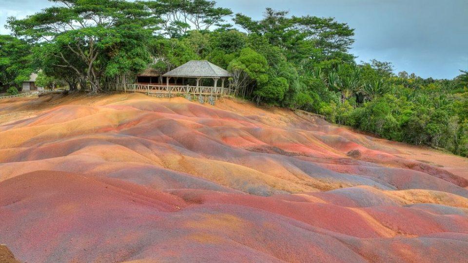 Le Sette Terre Colorate di Chamarel a Mauritius