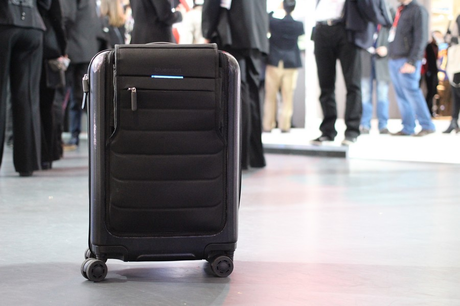Una valigia smart © ph Maurizio Pesce, via Wikipedia