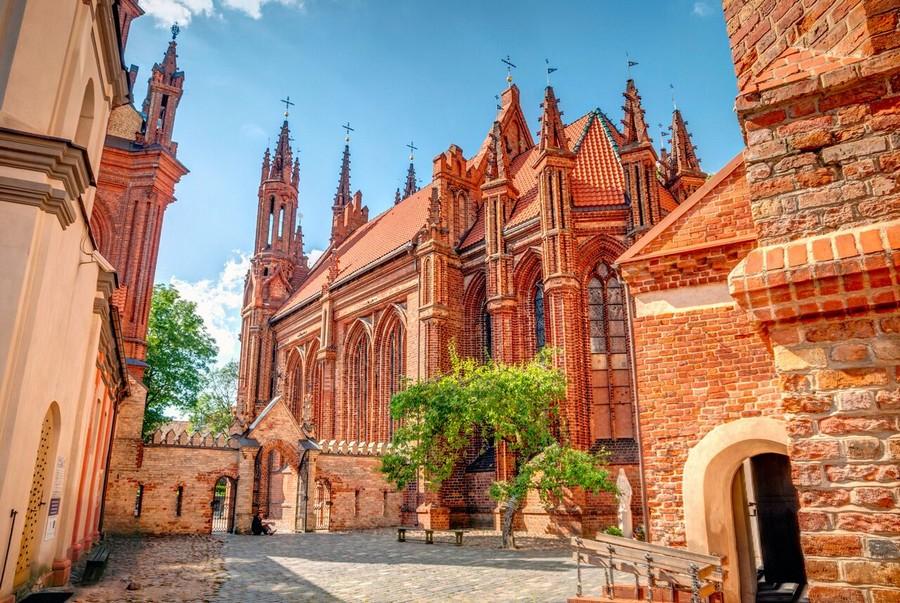 Chiesa di Sant'Anna, Vilnius (Lituania)