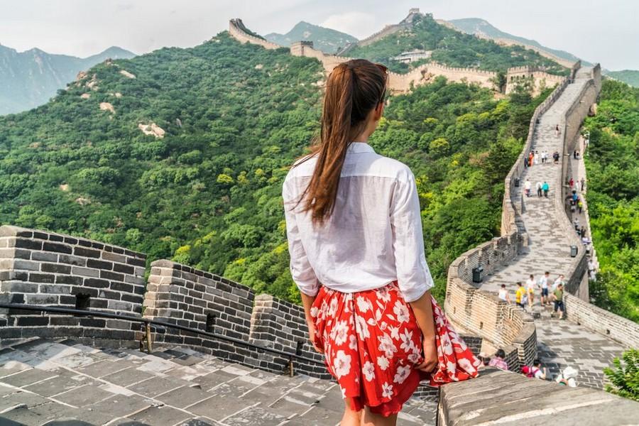 La Grande Muraglia Cinese nei pressi di Pechino