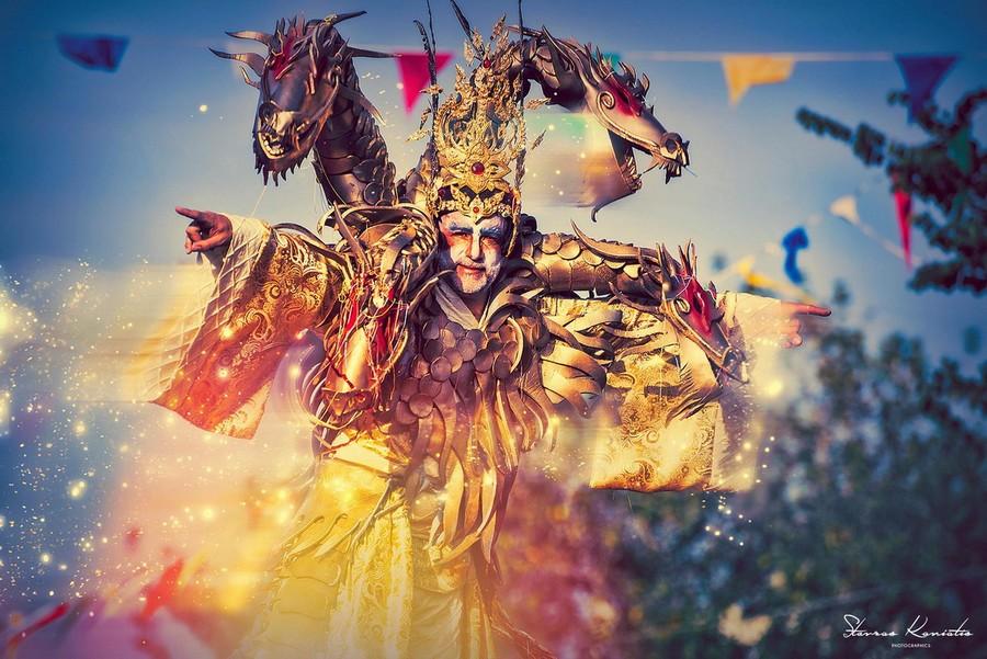 Un personaggio del Carnevale di Limassol © limassolmunicipal.com.cy