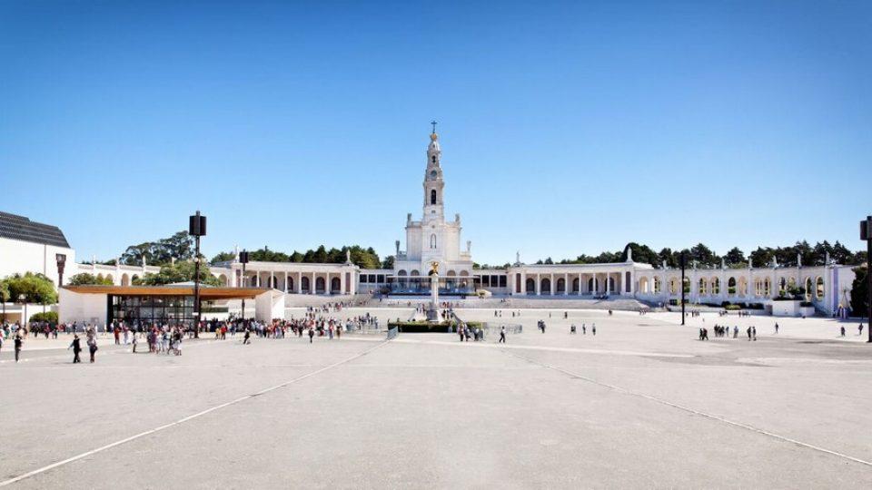 Fatima, la spianata del Santuario di Nostra Signora del Rosario