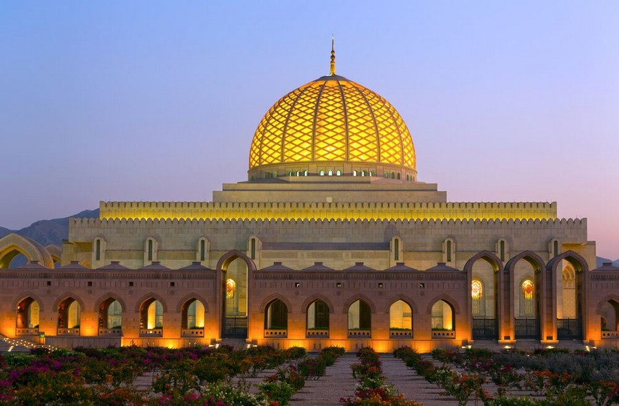 Grand Mosque a Muscat