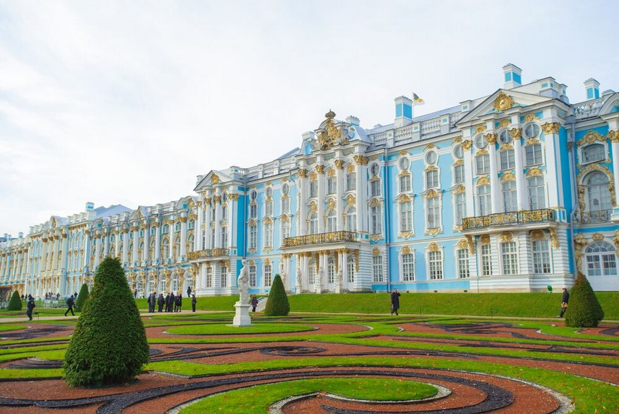 Palazzo di Caterina, Residenza di Pushkin
